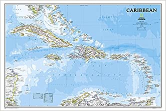 Caribbean Classic [Tubed] (National Geographic Reference Map)