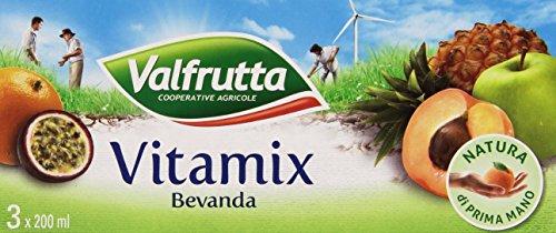 Valfrutta - Bevanda Analcolica, A Base Di Succhi Di Frutta 40% Con Vitamine - 600 Ml
