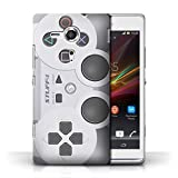 STUFF4 Phone Case / Cover for Sony Xperia SP/C5303 / Playstation PS1 Design / Games Console Collection