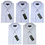 (グリニッジ ポロ クラブ) GREENWICH POLO CLUB 長袖 ビジネスワイシャツ 形態安定 ベーシック長袖 5枚セット