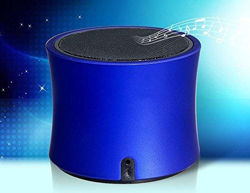 Mini Portable Wireless Bluetooth Speaker With Nfc, Fm Radio, Tf Card Reader (Blue)Ysk
