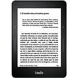 Kindle Voyage, pantalla de 6'' (15,2 cm) de alta resolución (300 ppp), con luz integrada autorregulable, pasos de página rediseñados, wifi