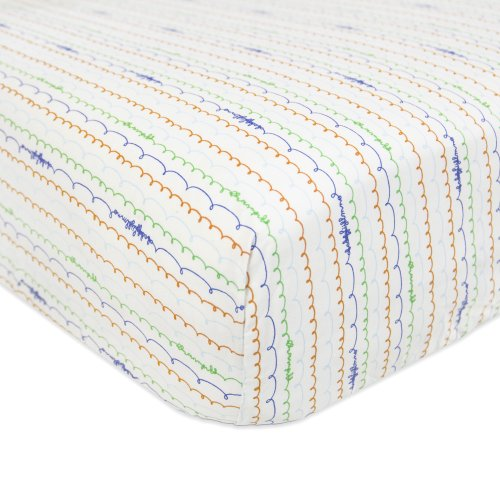 Babyletto Fitted Crib Sheet, Alphabets