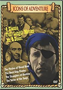 Icons of Adventure  (Terror of Tongs, Devil:Ship Pirates, Pirates Blood River, Stranglers of Bombay) (Bilingual) [Import]