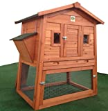RH-57-Rabbit-Hutch-with-Storage-for-Hay-Straw