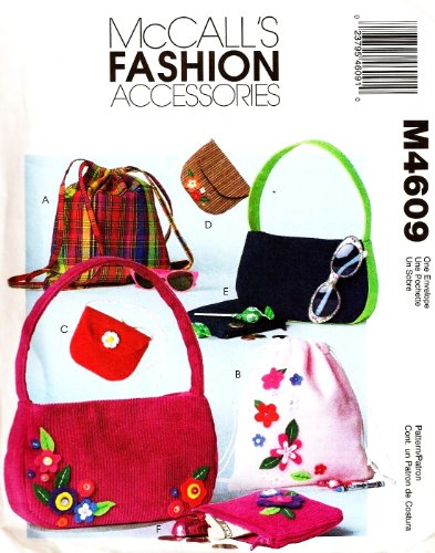 Mccall'S Sewing Pattern M4609 / 4609 Backpack, Bag, Purse, Tote front-1080804