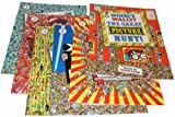 Martin Handford Where's Wally?- 6 Children's Book Set - RRP : £40.94 (Where's Wally?, Where's Wally Now?, The Fantastic Journey, In Hollywood, The Wonder Book, The Great Picture Hunt!) (Where's Wally?)