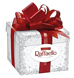 Amazon.com : Ferrero Raffaello Gift Box 300 G : Gourmet Chocolate