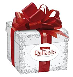 Amazon.com : Ferrero Raffaello Gift Box 300 G : Gourmet Chocolate