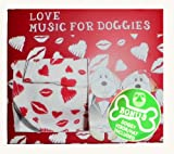 Pet Village Love Doggy Romantic Music Compact Disc Gift Set Complete with Adjustable Hat/Visor for all Doggys