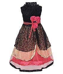 Addyvero Bittersweet Orange Girls Gown Dress