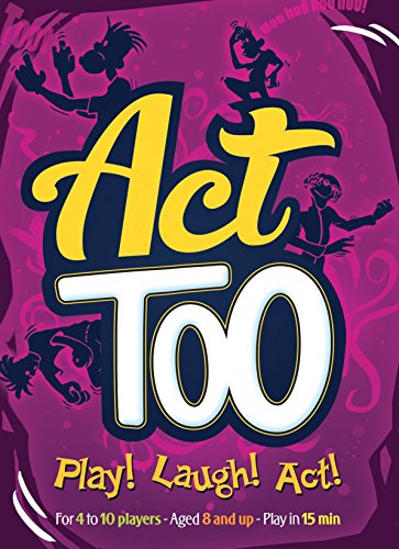 Act Too Card Game