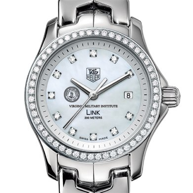 VMI Women's TAG Heuer Link with Diamond Bezel