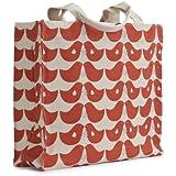 Apple & Bee 100% Organic Cotton Canvas Tote - Lovebirds