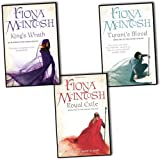 img - for Fiona McIntosh Valisar Trilogy 3 Books Collection Pack Set RRP:  23.97 (King's Wrath: Book Three, Royal Exile: Book One, Tyrant's Blood: Book Two) book / textbook / text book