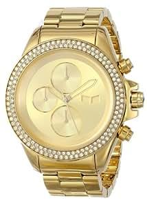 Vestal Unisex ZR2019 ZR-2 Minimalist Gold Swarovski Watch