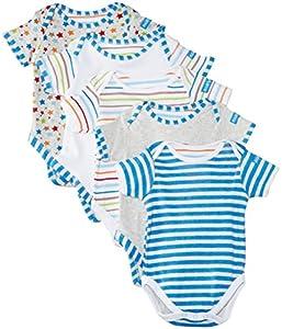 Lollipop Lane - Pijama con lunares para bebé, pack de 5