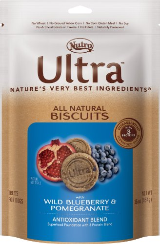 Ultra Dog All Natural Biscuits  Wild Blueberry