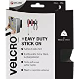 Velcro VEL-EC60245 50mm x 2.5m Brand Heavy Duty Stick On Tape - Blackby VELCRO Brand