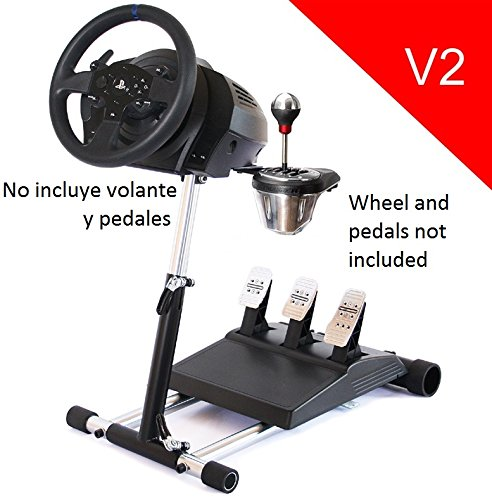 Deluxe-Racing-Steering-Wheelstand-for-Thrustmaster-T300RSPS4-TX458Xbox-OneTX-LeatherT150-and-TMX-Original-Wheel-Stand-Pro-Stand-V2-Wheel-and-Pedals-Not-included