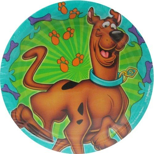 Scooby-Doo Where Are You! Large Paper Plates (8count)