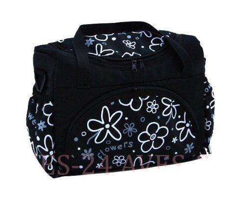 Wickeltasche Kinderwagentasche Schwarz