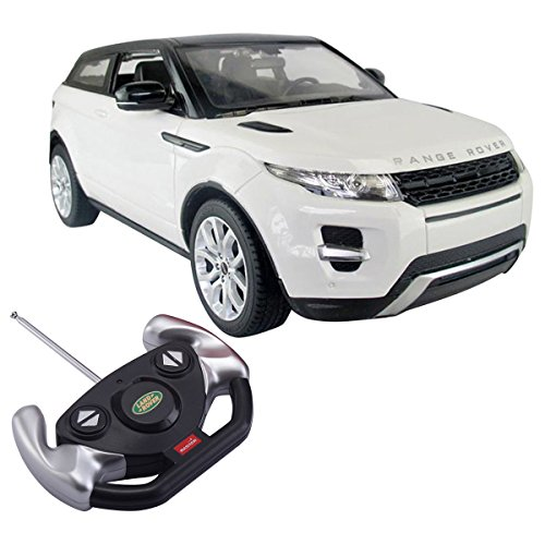 Costzon 1/14 Range Rover Evoque Licensed Electric Radio Remote Control RC Car White New (White Range Rover compare prices)