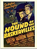 Sherlock Holmes, Hound of the Baskervilles, Movie Poster (30x40cm Art Print)