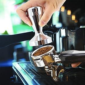 Modern Professional Espresso Tamper - 51mm Stainless Steel Flat Base Coffee Tamper, Versatile Kitchen Accessories by PeaceJoy