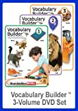 Vocabulary Builder 3 Volume DVD Set (Multilingual)