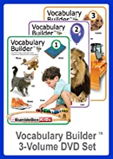 Vocabulary Builder 3 Volume DVD Set (Multilingual)