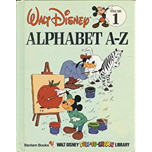 Walt Disney Alphabet A-Z (Walt Disney Fun-to-Learn Library)