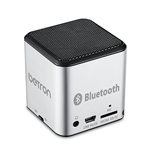 betron-mc500-mini-bluetooth-speaker-portable-rechargeable-travel-wireless-silver-for-iphone-ipad-ipo