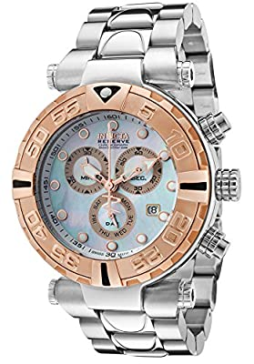 Invicta Men's 17690 Subaqua Analog Display Swiss Quartz Silver Watch