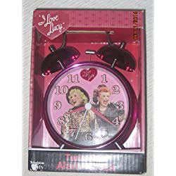 I Love Lucy Twin Bell Alarm Clock