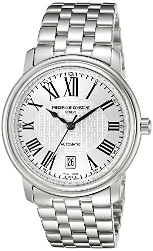 Frederique-Constant-Mens-FC303M4P6B2-Classics-Analog-Display-Swiss-Automatic-Silver-Watch