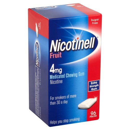 Nicotinell Chewing Gum 4mg Fruit - 96 Pieces