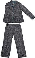 Gilligan & O'Malley Leopard Print Fleece Pajama Set