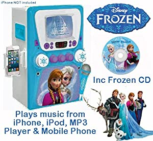 frozen karaoke machine with monitor