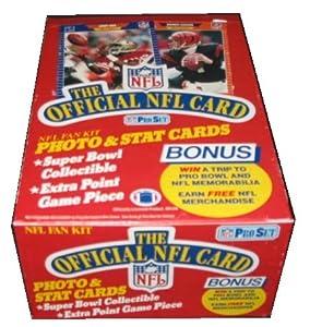 1989 Pro Set Series 1 Football by ProSet