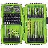 Greenlee DDKIT-1-68 Electrician's Drill Driver Bit Kit, 68-Piece