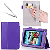 i-BLASON For Hisense Sero Pro 7 Inch Android Tablet Leather Case Cover (Elastic Hand Strap, Multi-Angle, Card...
