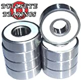 Bullseye Abec 9 Skateboard Bearings