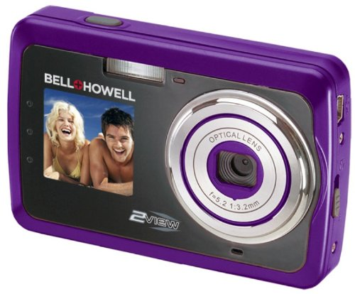 Bell and Howell 2V5-P 12 Megapixel 2view Digital Camera (Purple)