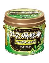 アース製薬 アース渦巻香 アロマグリーンの香り 30巻缶入