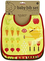 Sugarbooger Mini Bib Gift Set, My Garden, 2 Count