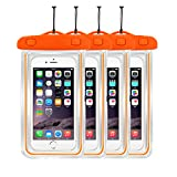 Waterproof Case Universal CellPhone Dry Bag Pouch CaseHQ for Apple iPhone 6S, 6, 6S Plus, SE, 5S, Samsung Galaxy S7, S6 Note 7 5, HTC LG Sony Nokia Motorola up to 5.7