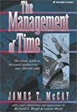 img - for The Management of Time by James T. McCay (1995-03-03) book / textbook / text book