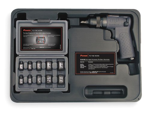 Ingersoll Rand Air Impact Wrench Kit, 1/4 In., 11, 000 Rpm at Sears.com