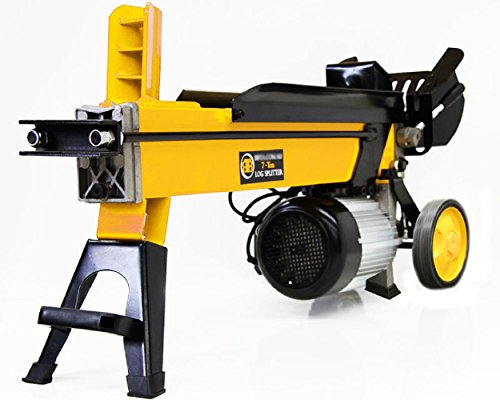Fire Wood Cutter Xtremepower Electric Hydraulic Log Splitter 7 Ton